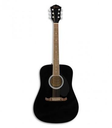 Guitarra Folk Fender FA 125 Black