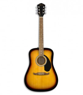 Guitarra Folk Fender FA 125 Sunburst