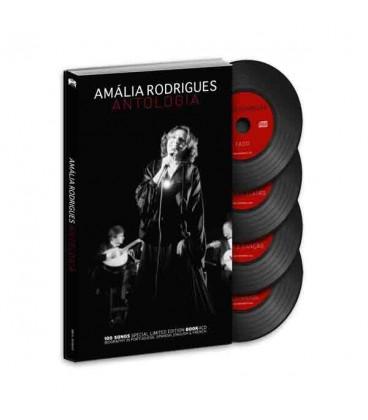 Livro Sevenmuses Am叩lia Rodrigues - Antologia comCD