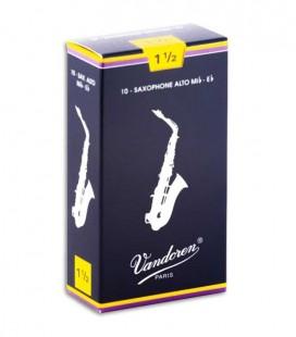Palheta SR2115 Saxofone Alto 1 1/2