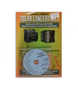 Livro Eurico Cebolo Método MágicoTocar Concertina 2 com CD