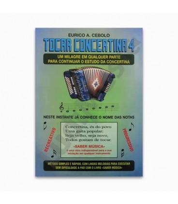 Eurico Cebolo T Concertina 4 M辿todo M叩gico Tocar Concertina 4 com CD