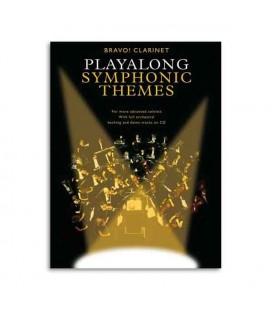 Livro Music Sales AM990616 Bravo Symphonic Themes Clarinet Book CD