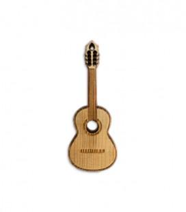 Porta-Chaves Portwood PC010 Guitarra Cl叩ssica