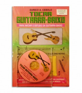 Eurico Cebolo M辿todo Tocar Guitarra Baixo CD