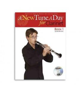 Livro Music Sales BM11374 A New Tune a Day Clarinet Book 1com CD