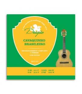 Jogo de Cordas Dragão 058 para Cavaquinho Brasileiro de 4 Cordas