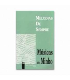Livro Melodias De Sempre No 34 Músicas do Minho por Manuel Resende