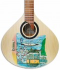 Guitarra Portuguesa APC GFHPLS Spruce Mogno Pintada à Mão