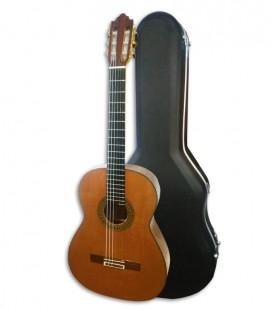 Guitarra Clássica Luthier Vicente Carrillo Concerto Primera Especial Cedro e Pau Santo com Estojo