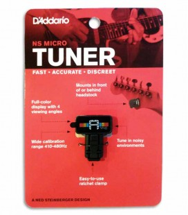 Afinador DAddario PW CT 12 Micro Clip Tuner