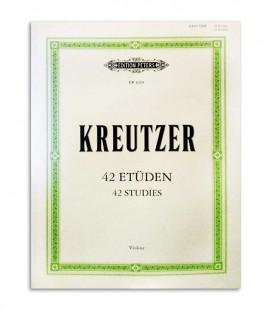 Kreutzer 42 Estudos para Violino Peters