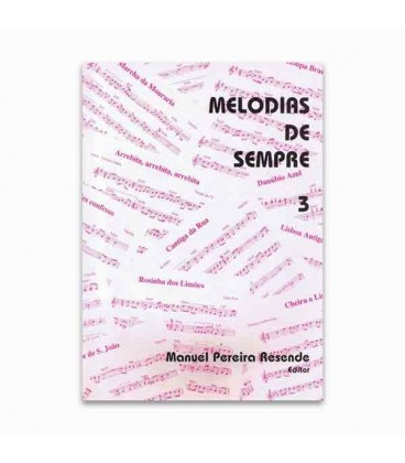 Livro Melodias de Sempre 3 por Manuel Resende