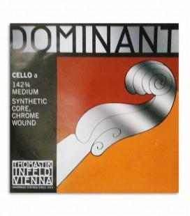 Corda Thomastik Dominant 130 para Violoncelo 3/4 1ª Lá