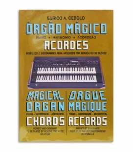 Livro Eurico Cebolo OM AC Método Órgão Mágico Acordes