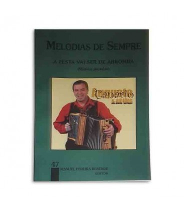 Livro Melodias de Sempre 47 para Manuel Resende