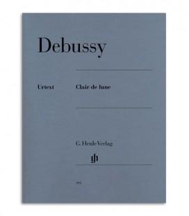 Livro Debussy Raio de Luar HN381