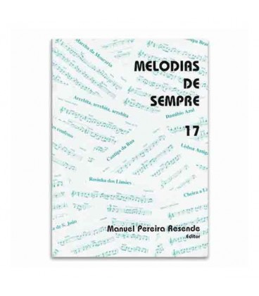Livro Melodias de Sempre 17 por Manuel Resende