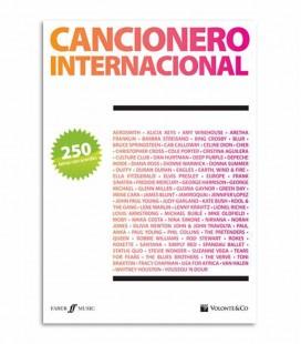 Book Cancionero Internacional 250 Lyrics with Chords MB