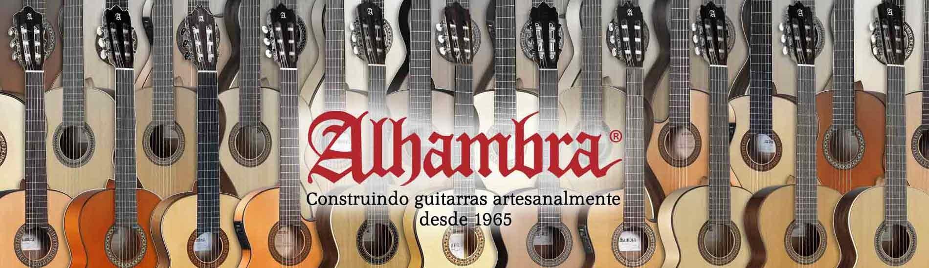 Guitarras Alhambra desde 1965