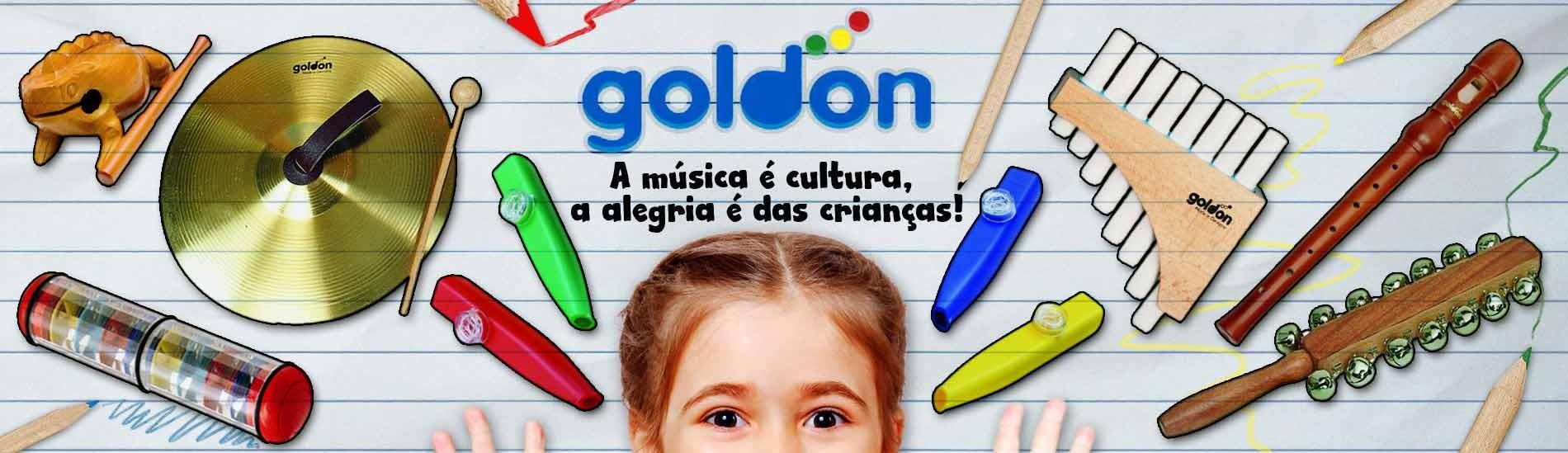 Instrumentos de iniciação musical (Orff) Goldon