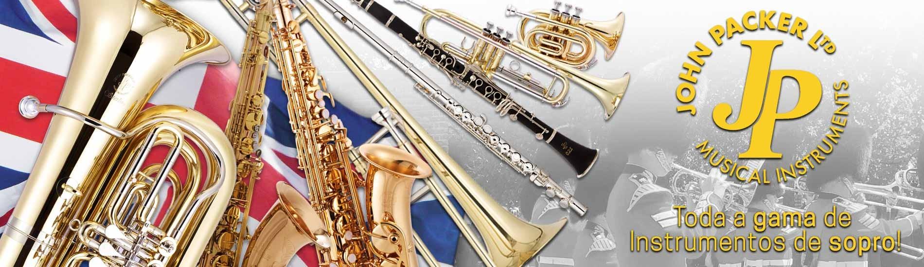 Instrumentos de sopro John Packer