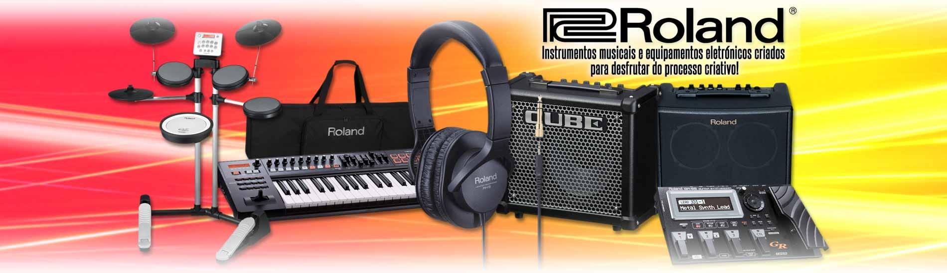 Roland - Instrumentos musicais e equipamentos eletrónicos