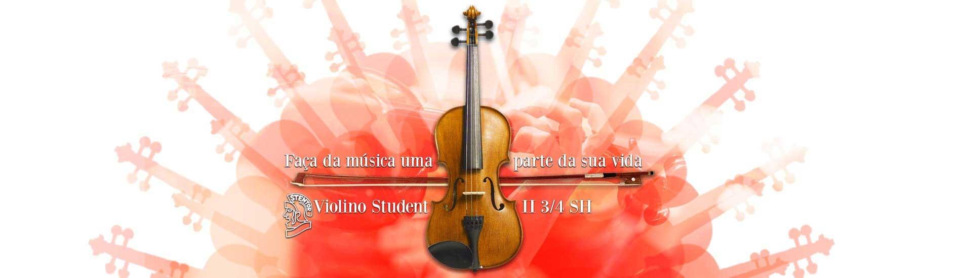Violino Stentor Student II SH com Arco e Estojo